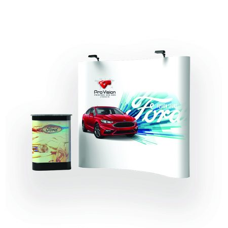 Pop Up Backdrop Display (Curved)